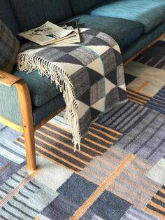 LAND flat weave rug inspired by the art works of constructivist painter Adolf Fleischmann. Abstract Painters, Weave, Mid Century, Flat, Inspired, Rugs, Inspiration, Collection, Design