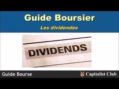 Guide Bourse : Le dividende - YouTube