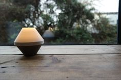 Wonderful little lamps made using 3D printing and concrete!