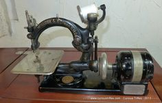 Gibbs & Wilcox Sewing Machine Stores in Sewing by curioustrifles