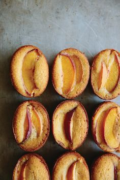 The beautiful oral tones of honey can make baked goods sing. Slices of nectarine top these tender little cakes, but you could also use peach, apricot or plums During the summer months when stone fruits are cheap and plentiful, you can buy fruit in bulk, slice, lay out on a tray, freeze and then transfer it to zip-lock bags. You can then use the slices in smoothies. Or, lightly stew and freeze in containers to later use in pies, tarts and crumbles – there's nothing like pulling out a c...