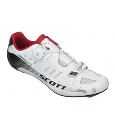 Shoe Road Team Boa White-Black Gloss cycles-sports.fr