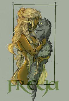 Freya from Vanheim by PaddyMoonshade on DeviantArt