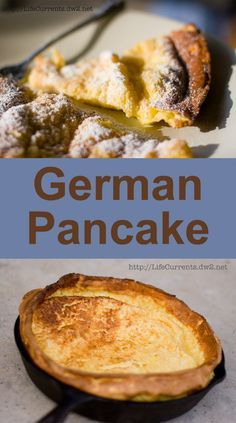 German Pancake by Life Currents is a really easy and super impressive breakfast! Pin now to make later; you're gonna want this recipe!