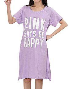 US&R Women's Eclectic Fun Maternity Breastfeeding Cap Sleeve Dress Sleepwear, Pink One Size Maternity Sleepwear, Maternity Dresses, Dress Collection, Breastfeeding, Cap Sleeves, Fashion Brands, Topshop, Shirt Dress, Pink