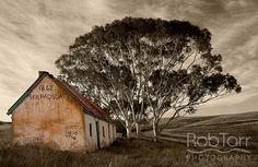 Skilpadsgat 1862. An old run down farmhouse