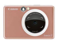 ch: Fotokameras > Sofortbildkameras > Kameras > Canon Kamera Zoemini S Rose Gold Canon Kamera, Usb, Printer, Rose Gold, Videos, Yummy Yummy, Pork Tenderloins, Salads, Christmas Starters