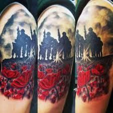 75 Poppy Tattoo Designs For Men - Remembrance Flower Ink Trendy Tattoos, Tattoos For Women, Tattoos For Guys, Cool Tattoos, Tatoos, Awesome Tattoos, Tattoo Sleeve Designs, Tattoo Designs Men, Sleeve Tattoos