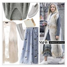"""""""NYFW Street Style: Day Two"""" by teoecar ❤ liked on Polyvore featuring Lipsy, AX Paris, StreetStyle and NYFW"""