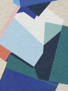 40 Excellent Examples Of Cubism Art Works Graphic Patterns, Print Patterns, Illustrations, Illustration Art, Cubism Art, Color Studies, Art Graphique, Color Shapes, Art Design