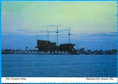 Panama City Beach Florida Treasure Ship Restaurant
