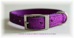 Purple Passion Glitter Glamour Safety Cat Collar 12 inch ** Want to know more, click on the image.