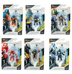 Mega Construx Destiny Heroes Series 1  Micro Action Figures U CHOOSE  SEALED
