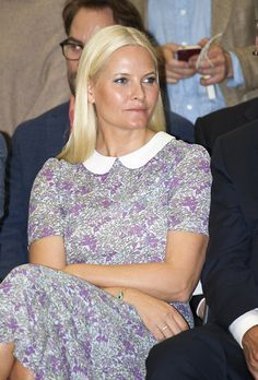 Queens & Princesses - Princess Mette Marit was at the Venice Biennale, where she inaugurated the Nordic Pavilion.