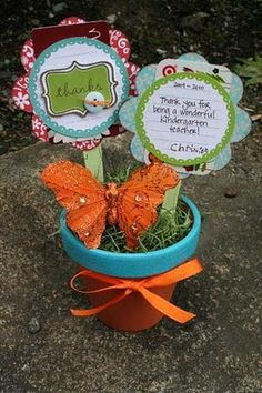 Flower Gift Card Holder--Administrative Assistant Day This Week!