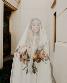 modest wedding dress with cap sleeves from alta moda. photo by @annierubyy