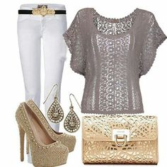 <3 Grey outfit