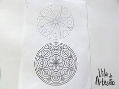 Imprima seu desenho de molde