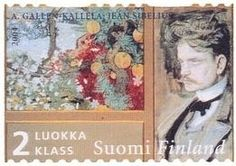 Stamp issued in 2004 by Finnish Post.