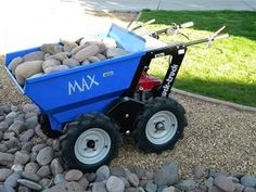 Muck Truck Max Dumper makes easy work of moving building materials. The Max Dumper is used by landscapers, builders and tree surgeons. The Max Dumper Power Barrow will shift building materials like soil, gravel, sand and paving slabs. For more info please check us out at: http://www.fresh-group.com/max-dumper.html