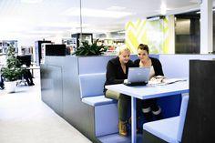 Sitting and conversation environments at CFU / Photo: Kim Wendt