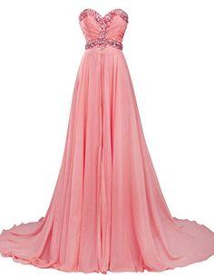 JAEDEN Women's Sweetheart Elegant Long Formal Evening Dress Chiffon Prom Gown Coral US2 JAEDEN http://www.amazon.com/dp/B00UHDVU4U/ref=cm_sw_r_pi_dp_fWKivb0AQEYCJ