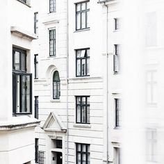 29 New Ideas for exterior house white building Oh The Places You'll Go, Places To Travel, Houses Architecture, Black Architecture, Architecture Student, Beautiful Architecture, White Building, White Aesthetic, Art Furniture