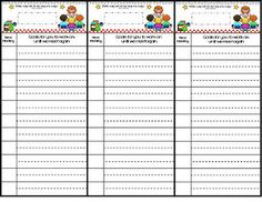 Guided Reading Goal Setting Bookmarks freebie
