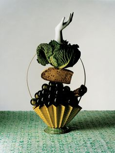Stop playing with your food! Editorial by Metz + Racine http://www.metzracine.com/