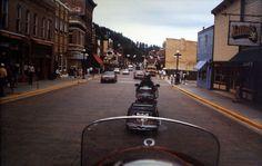 Riding through Deadwood S. Dakota
