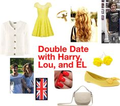 """Double Date 3"" by one-direction-outfits1 ❤ liked on Polyvore"