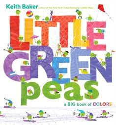 Little Green Peas: A Big Book of Colors by Keith Baker http://www.amazon.com/dp/1442476605/ref=cm_sw_r_pi_dp_8A8Ztb1MSNP81G9R