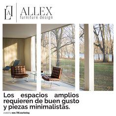 Los espacios amplios requieren de buen gusto y piezas minimalistas. #Designs #Furniture #AllexDesign #House #Mydreamhouse #modern #interiordesigns #classic #vintage #event #home #homedecor #decoration #miami #brasilianfurniture #doral #doralzuela #like #redecoration #newhome #newhouse #designer