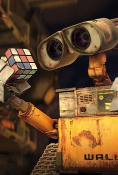 It's okay, Wall-E. Nobody else understands those things, either.