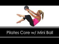 PILATES CORE with MINI BALL - YouTube