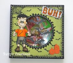 Bettys-creations: Flat Halloweenbox with viewing window