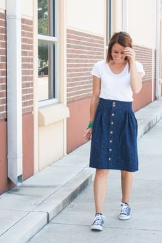 The Anywhere Skirt-One Little Minute Blog