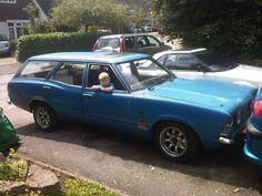 1976 Mk3 FORD CORTINA Estate 2.8 v6, 5 spd, polybushed, rat look,old skool, loud