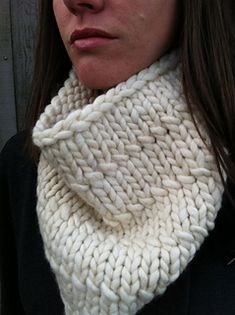This is a great warm winter cowl, that will keep the wind off your neck. Looks great with a casual jacket or a dressier coat.