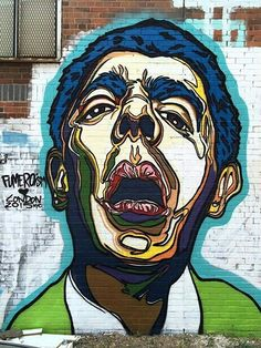 Street Art London. Mr Bean by Fumeroism. Bethnal Green, London, UK. Courtesy of Street Art London.