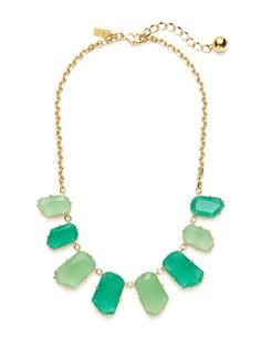 Green Multi Statement Necklace by kate spade new york on Gilt.com
