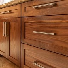 Incroyable Black Walnut Shaker Door   Real Wood | Cabinets   Walnut | Pinterest |  Shaker Doors, Real Wood And Doors