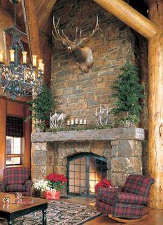 389 best rustic fireplaces images fire places home decor log rh pinterest com Rustic Stone Fireplaces Rustic Stone Fireplaces