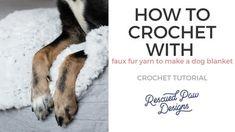 How to Change Yarn in Crochet - Easy Crochet Picot Crochet, Crochet Ripple, Quick Crochet, Chunky Crochet, Crochet Basics, Simple Crochet, Beginner Crochet, Crochet Shawl, Double Crochet