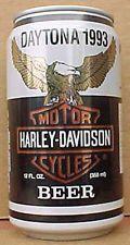 HARLEY-DAVIDSON MOTORCYCLES BEER Can DAYTONA 1993