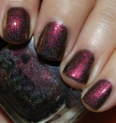 Colors by Llarowe Obsession by Vampy Varnish #colorsbyllarowe #cbl #llarowe