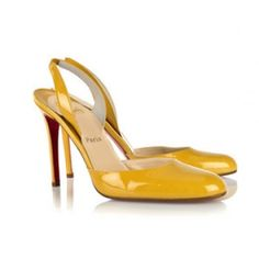 Matador in Yellow Patent LeatherMatador in Yellow Patent Leather