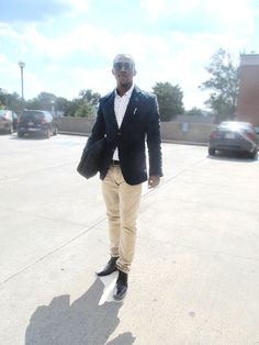LYFE blazer khaki, shades, men fashion
