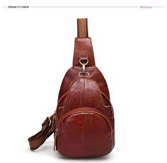 Fashion Brand Genuine Leather Unisex Shoulder Bag Vintage Designer Messenger Crossbody Bag Designer Messenger Bags, Ipad Bag, Crossbody Bag, Tote Bag, Vintage Designs, Fashion Brand, Leather Bag, Shoulder Bag, Unisex