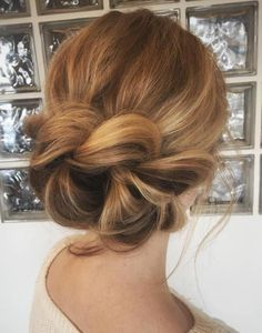 Loosely Braided Updo More